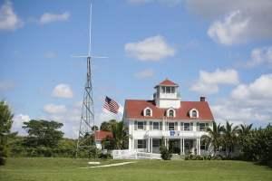 Coast Guard museum on Peanut Island