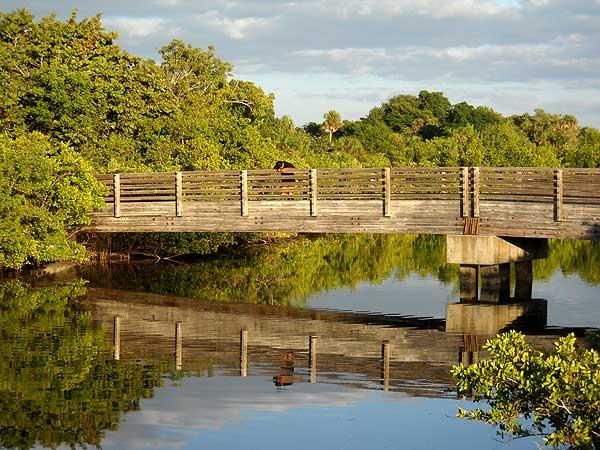 Lovers Key State Park bridge