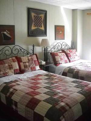 Historic Florida Seminole Inn room