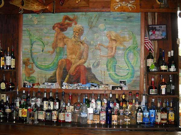 Cedar Key: Neptune Bar at the Island Hotel
