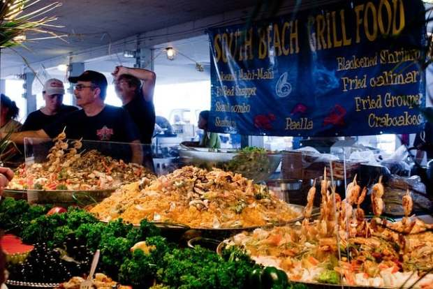 Everglades Seafood Festival, Everglades City