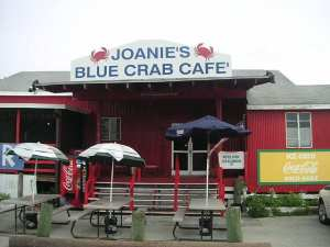 Tamiami Trail Joanies Blue Crab cafe by James Ashburn