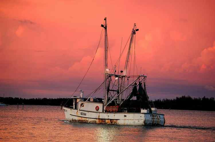Fort Myers Beach shrimp boat by Albert Heaps via Flickr