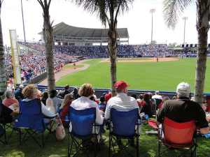 New York Mets at Spring Training in Port St. Lucie, FL