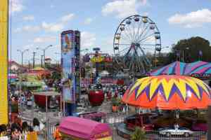 Midway at the Florida Strawberry Festival