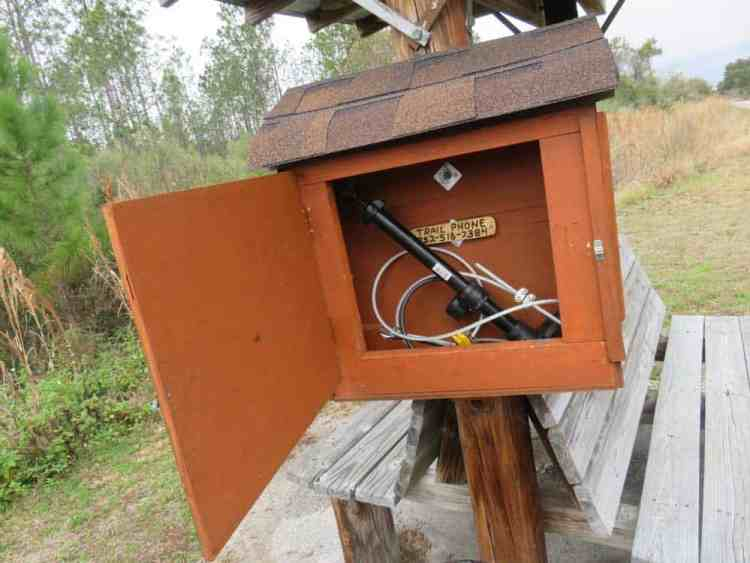 We loved the Eagle Scout project that provided periodic biker Rx boxes equipped with bicycle pumps and tools along the Van Fleet Trail. (Photo: David Blasco)