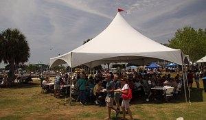 Cedar Key Food Tent