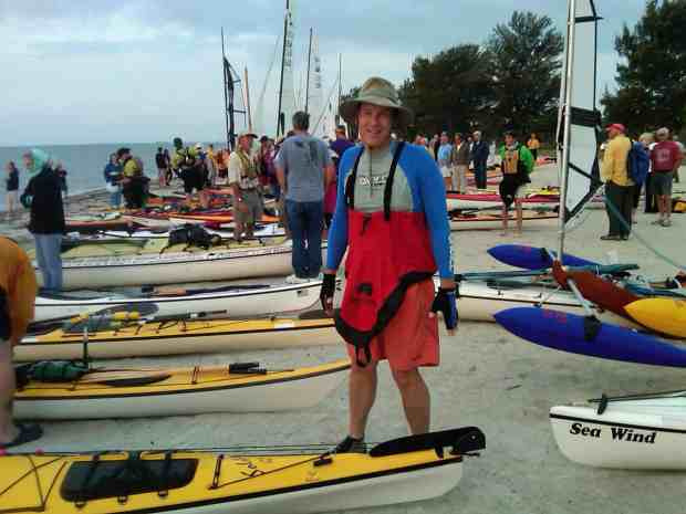 Sharkchow prepares for start of Everglades Challenge at Fort Desoto
