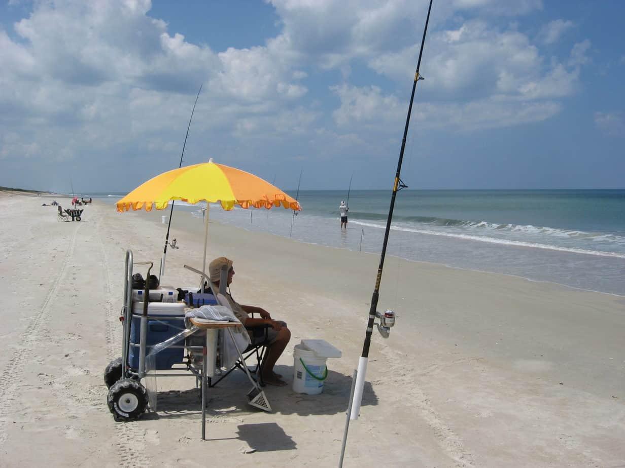 Surf fish apollo canaveral florida rambler for Beach fishing florida