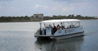 The ferry to Fort Matanzas