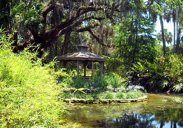 Gazebo in Washington Oaks Gardens State Park, Palm Coast