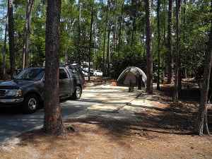 Fort Wilderness campsite