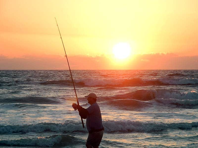 Surf fishing basics family fun at the beach florida rambler for New smyrna beach fishing report