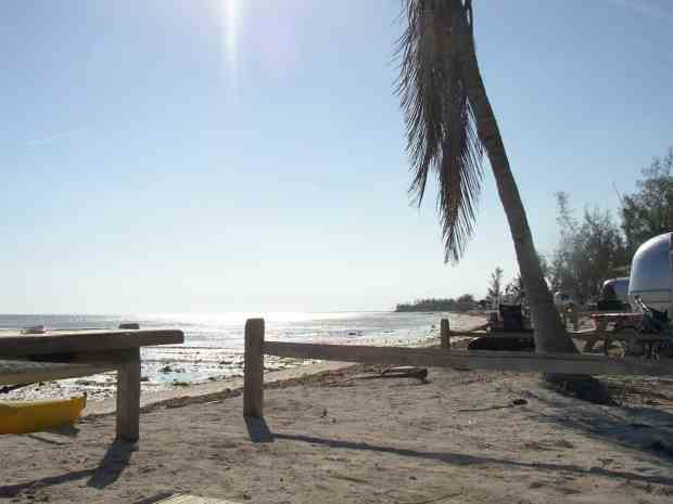 Campsites at Long Key State Park