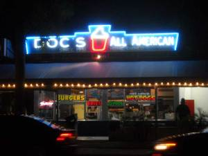 Doc's All American drive-in on the corner of Swinton and Atlantic Avenue