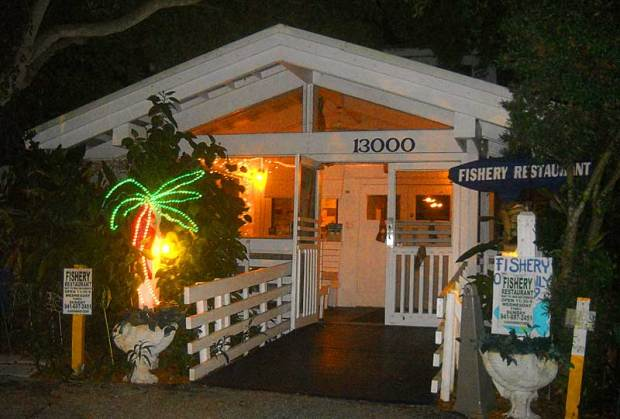 The Fishery Restaurant in Placida, Florida