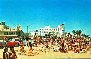 Spring Break postcard Fort Lauderdale Beach