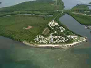 Aerial view of Curry Hammock