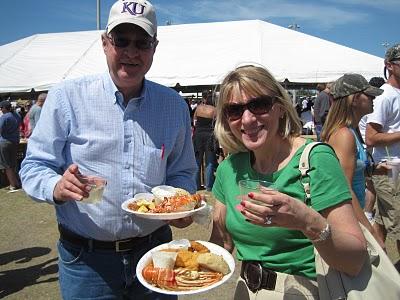 Visitors to Marathon Seafood Festival