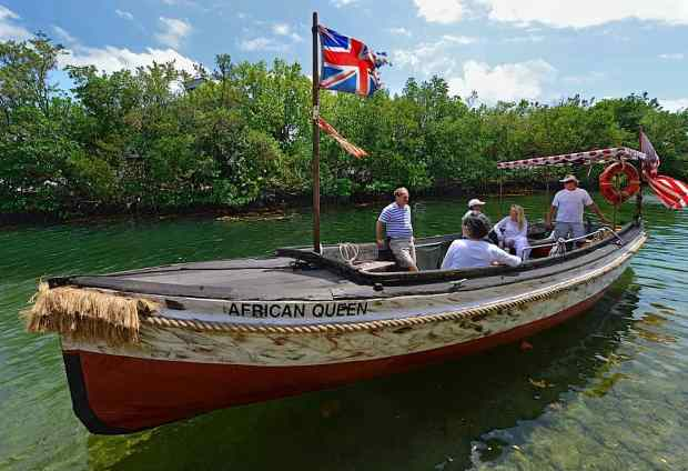 The African Queen on Islamorada