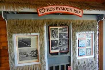 Honeymoon Island, Dunedin exhibit