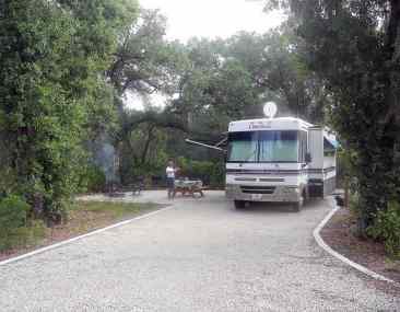New campground at Myakka River State Park