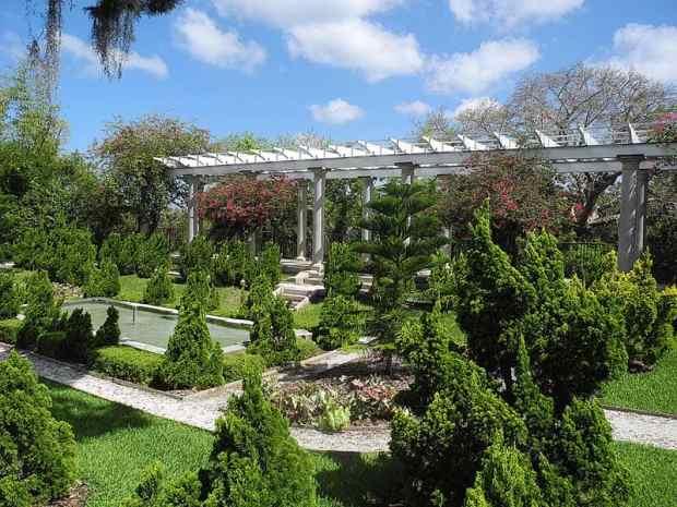Sunken Garden at HIstoric Spanish Point