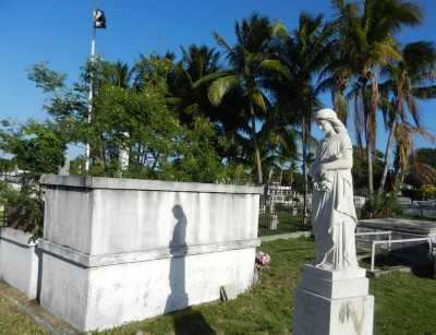 Key West Cemetery angel
