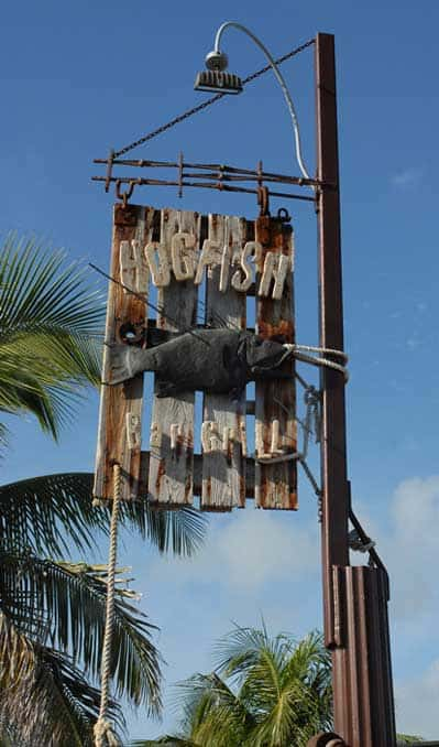 Hogfish Bar & Grill in Key West