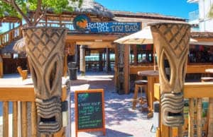 Holiday Isle Tiki Bar in the Florida Keys