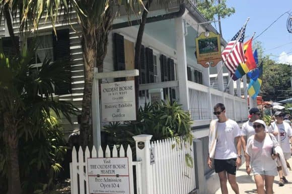 Key West's Oldest House is free to tour. There are three historic rooms with interesting artifacts and beautiful shady landscaped backyard where you are free to linger. (Photo: Bonnie Gross)