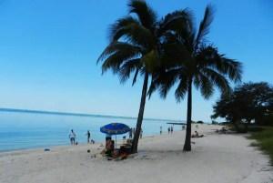 Sombrero Beach in Marathon in the Florida Keys.