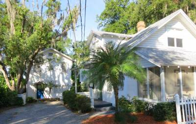 Tremain Cottages in Mount Dora, near Orlando.