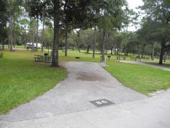 Salt Springs Campground in Ocala National Forest