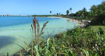 Calusa Beach at Bahia Honda State Park in the Florida Keys.