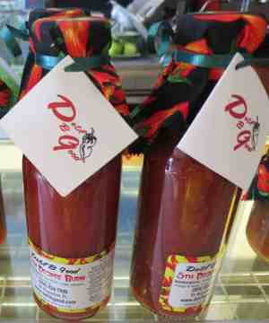 One sign of Minorcan culture is hot sauce made from datil peppers
