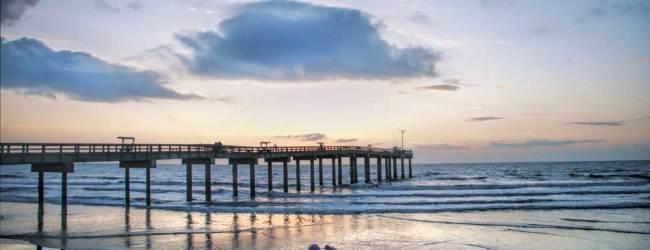 The spectacular beach, dunes and pier near St. Augustine. (Courtesy FloridaHistoricCoast.com)