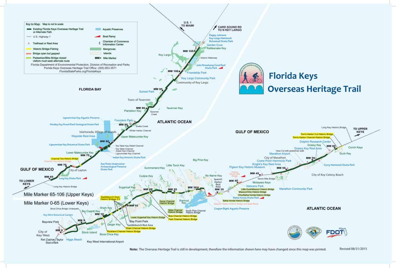 Biking The Florida Keys Overseas Heritage Trail Florida Rambler