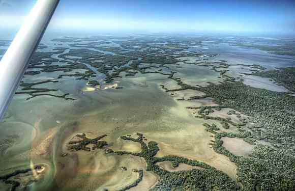 ten thousand islands aerial by tommy wikland