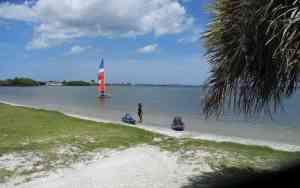 Kelly Park beach launch on Merritt Island