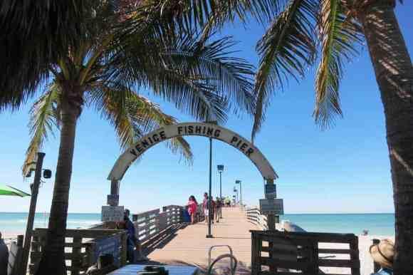 Fishing pier in Venice, Florida
