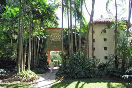 The Kampong in Coconut Grove. This is the main house, built by David and Marian Fairchild in 1928. (Photo: Bonnie Gross)