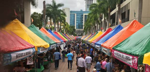 Miami Book Fair, held every November.