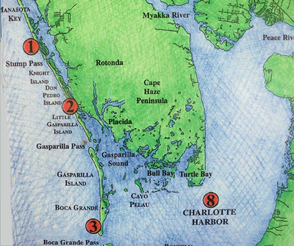 Florida Islands Map.Discover Other Florida Barrier Islands Along Gulf Coast Florida