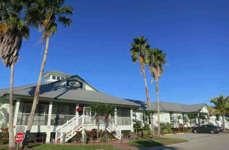 Ivey House Bed and Breakfast in Everglades City is designed for outdoors-oriented visitors. (Photo: Bonnie Gross)