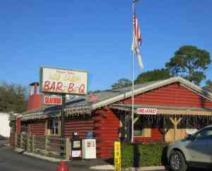 Log Cabin Bar-B-Q in LaBelle.
