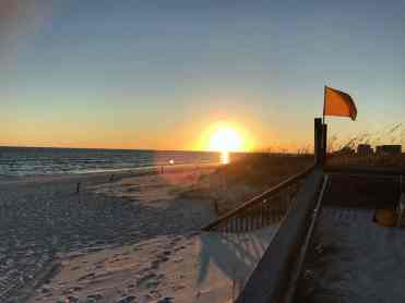 Sunset on Henderson Beach at Henderson Beach State Park