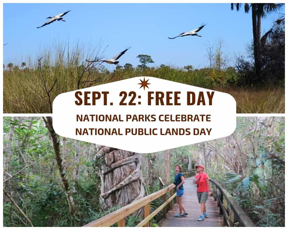 2018 free days in national parks, including Saturday, Sept. 22