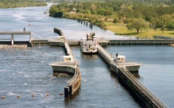 W.P. Franklin Lock