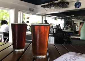 First Flight Island Restaurant and Brewery in Key West. (Photo: Bonnie Gross)